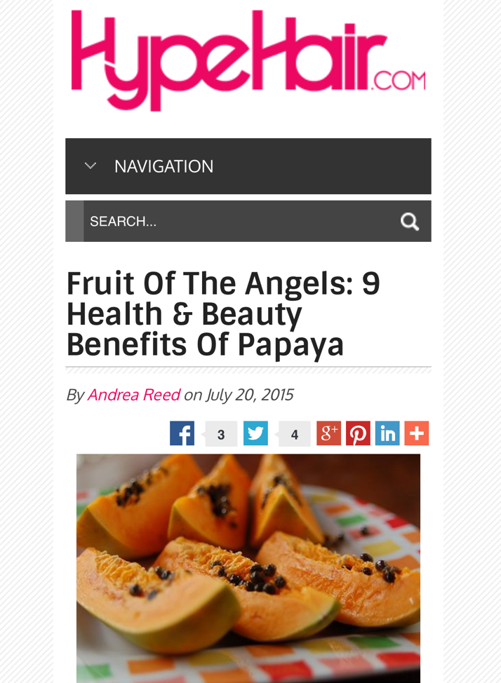 9 Benefits of Papaya
