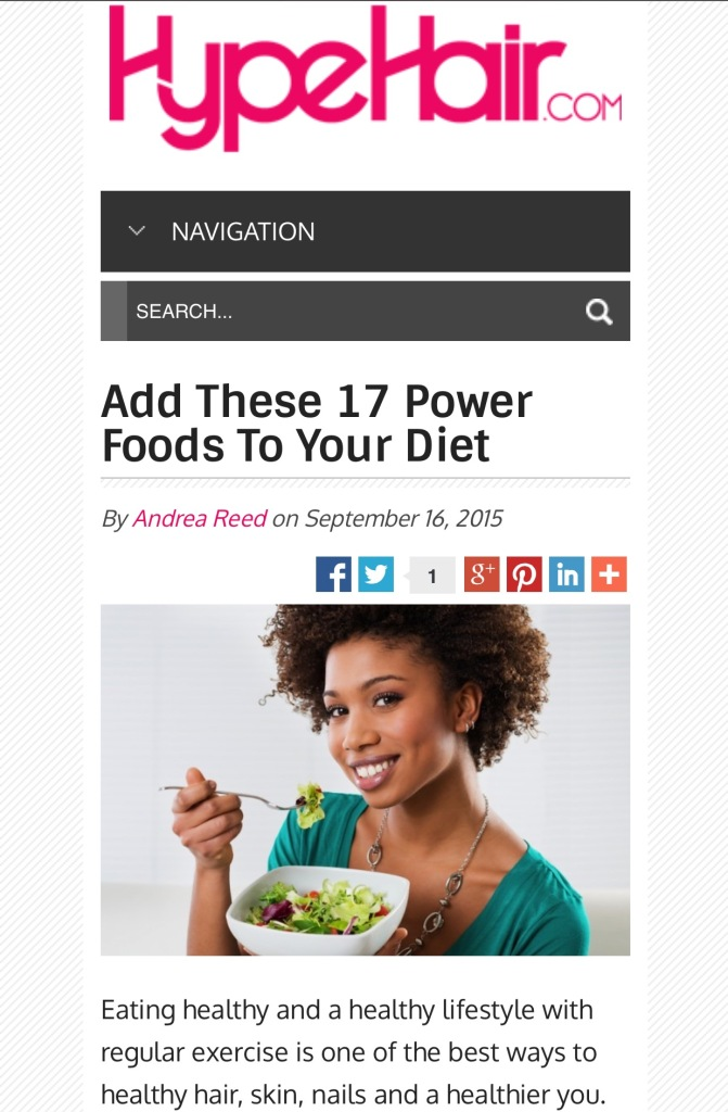 17 power foods