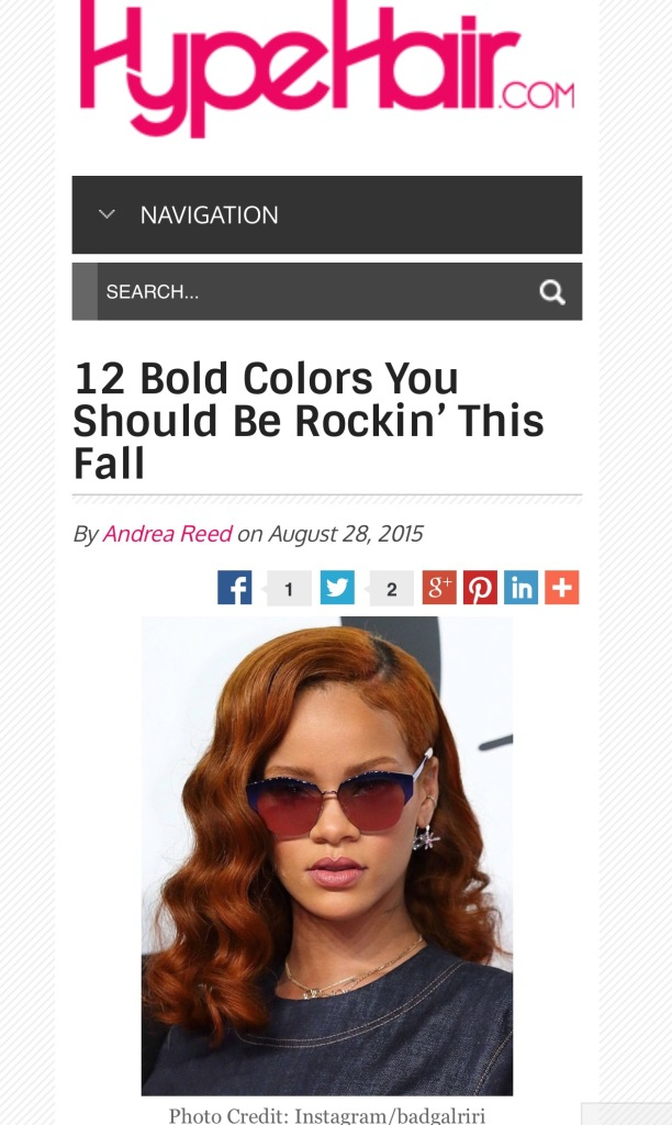 fall colors for hair