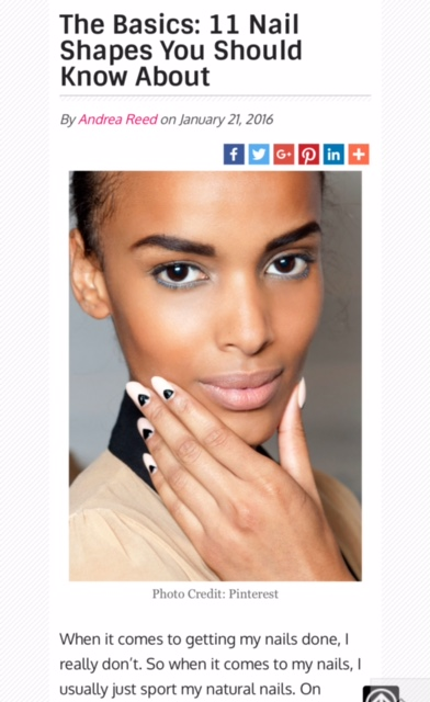 11 nail shapes you should know