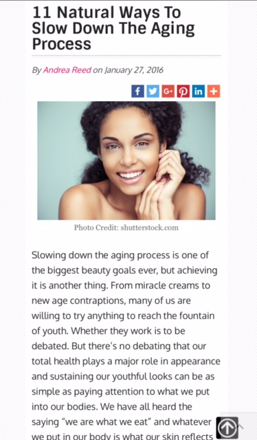 11 ways to slow down the aging process