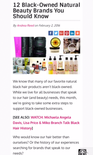 12 black owned beauty brands