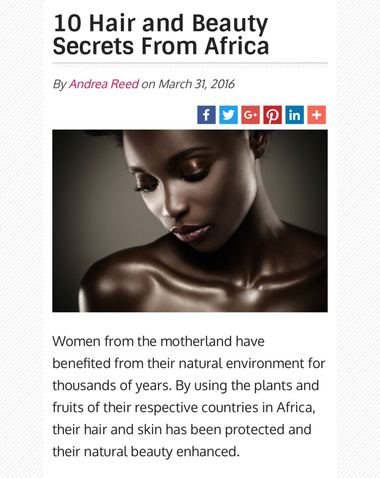 secrets from africa
