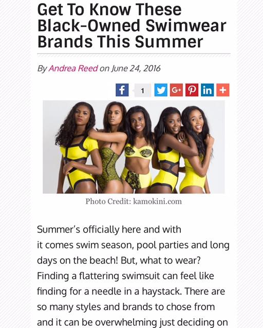 black owned swimwear brands