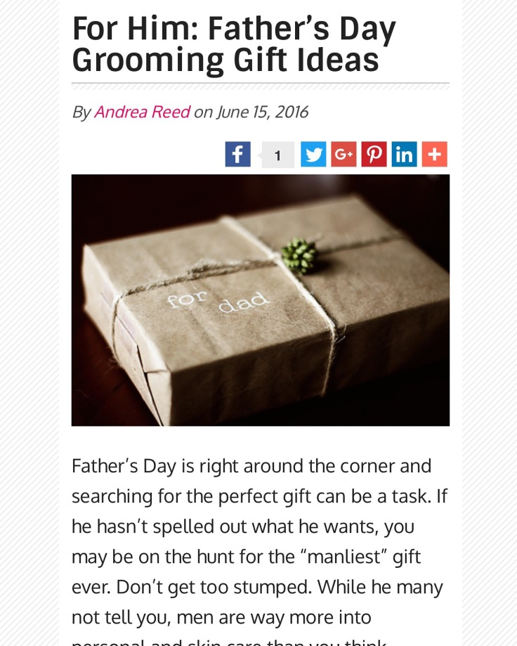 fathers day grooming gifts