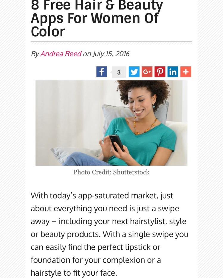 Free Hair & Beauty Apps